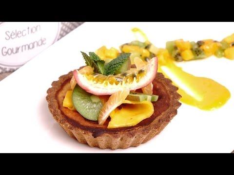 cours-de-cuisine-:-cheesecake-noisette-et-déclinaison-de-fruits-exotiques
