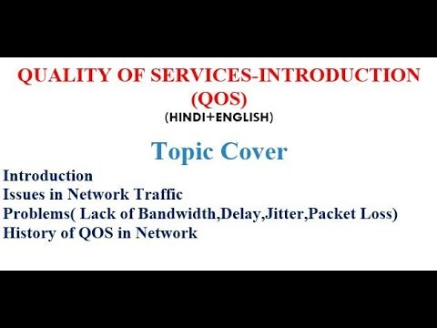 QUALITY OF SERVICES-INTRODUCTION and History