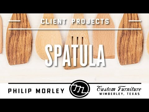 How to Make a Simple Spatula