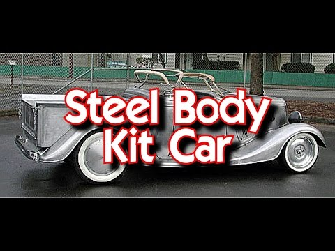 Fiberglass Kit Cars versus Steel Body Hot Rods-Which One's The BEST?