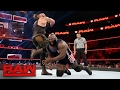 Mark Henry vs. Braun Strowman Raw, Feb. 13, 2017