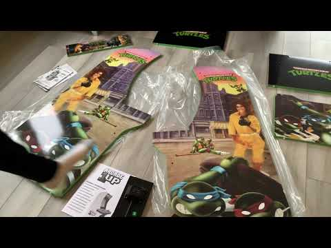 New Arcade1up Teenage mutant ninja Turtles (part 2) from GUCCI GAMER GUY