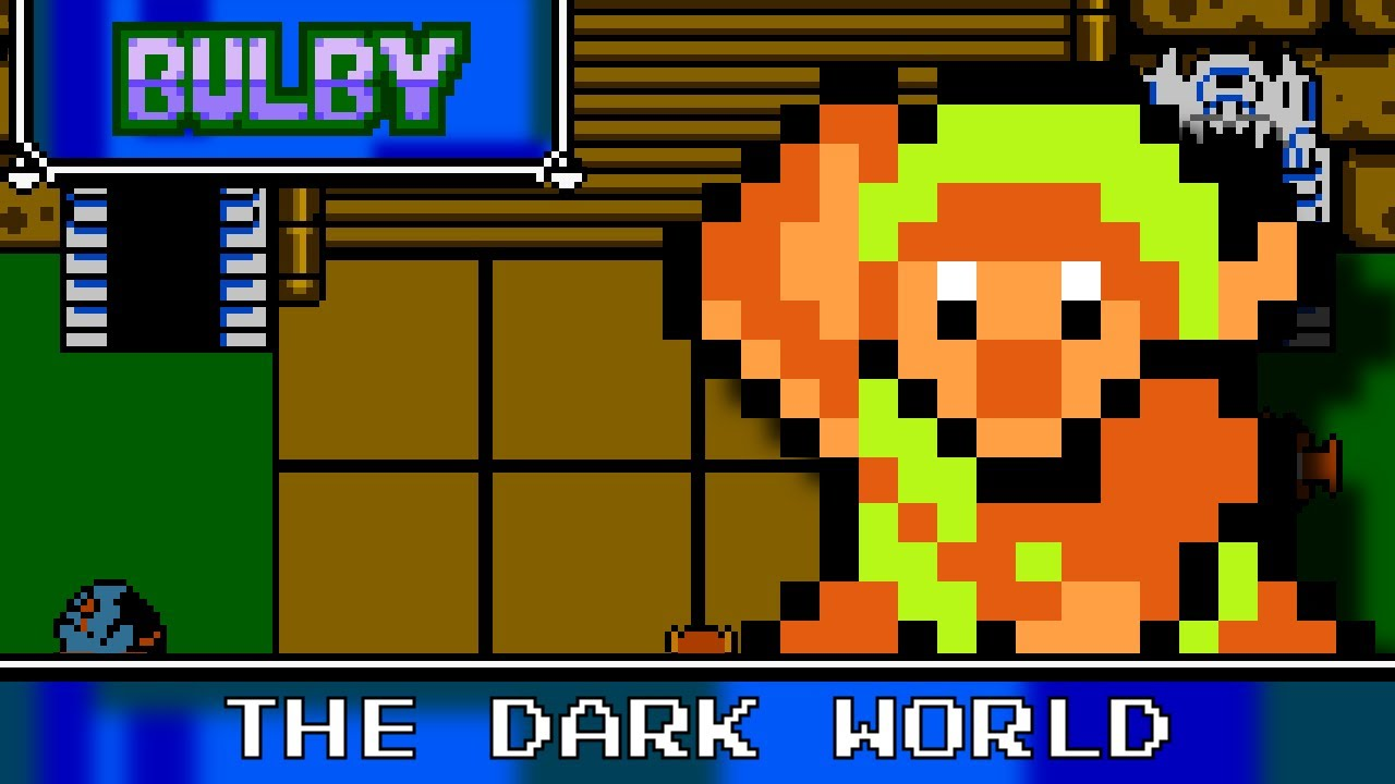 The Dark World (The Legend of Zelda: A Link to the Past): 8-bit vs