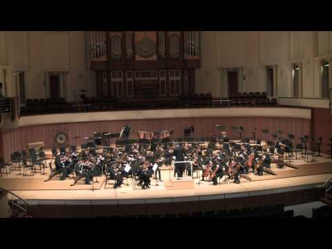 Allegro from Symphony 25 by Mozart - Played by the Atlanta Junior Chamber Orchestra