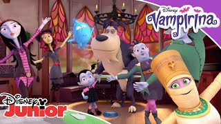 🎵 Lending a Helping Claw! | Vampirina | Disney Junior UK