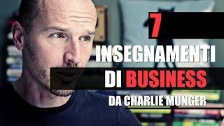 7 Insegnamenti di Business da Charlie Munger