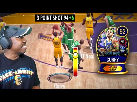 CURRY WITH 100 3-POINT SHOT RATING IN PvP ARENA! NBA Live Mobile 20 Season 4 Gameplay Ep. 24