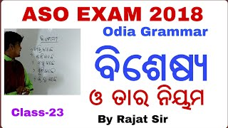Odia Grammar for ASO !! OPSC ASO 2018 !! ASO Class !! Banking with Rajat