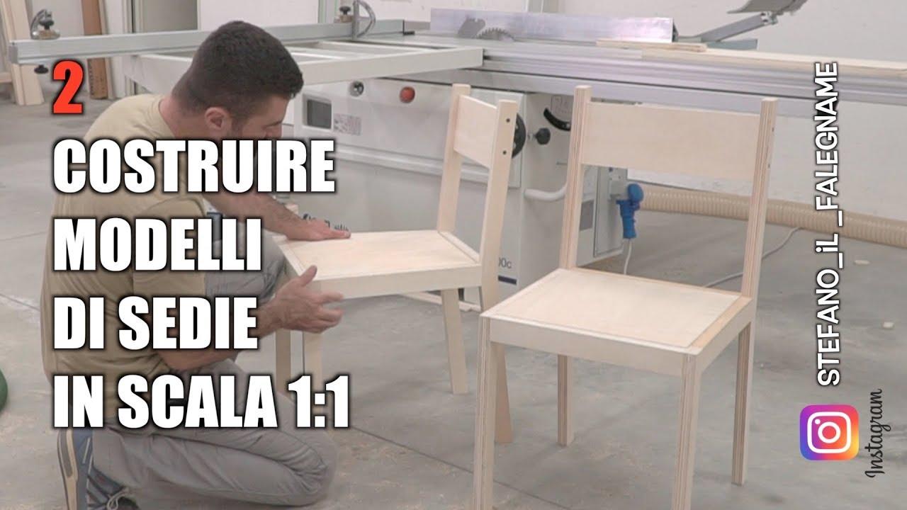 Modelli Sedie In Legno.Come Fare Una Sedia In Legno Corso Di Falegnameria Youtube