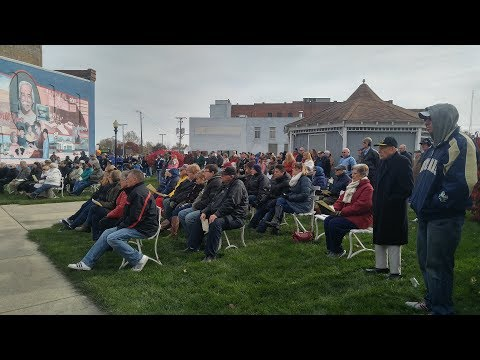 Entire 2017 Veteran's Day Program in Veterans Park Frankfort, Indiana