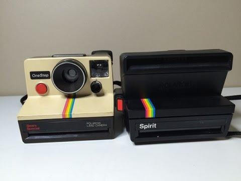 The Polaroid® 600 camera - YouTube