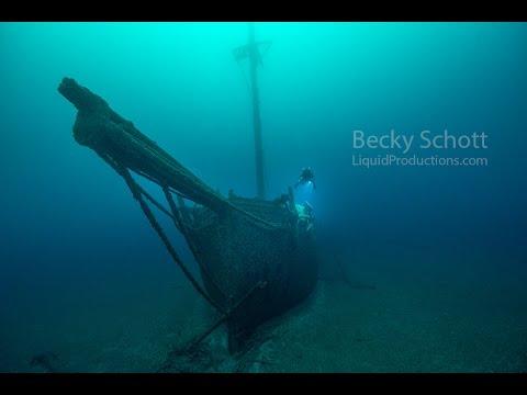 Great Lakes Shipwrecks :Wooden Schooner Typo and Cornilia B. Windiate