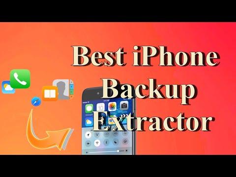 2018 Top 5 Best iPhone Backup Extractor