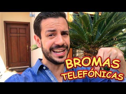 IDEAS DE BROMAS TELEFÓNICAS (CELEBRACIÓN)