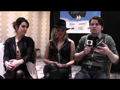 "Melanie Lynskey, Maggie Grace and Jason Ritter from ""We'll Never Have Paris"" at SXSW 2014."