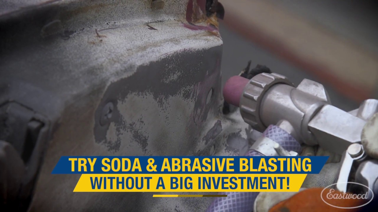 Soda Blasting Media >> Remove Paint Rust Media Blasting Without A Big Investment