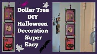 Dollar Tree DIY Halloween 🎃 Decoration Super Easy