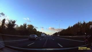 LR16 DVB - Very dangerous undertake and harassing a van driver.
