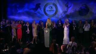 Stephanie Gilmore Inducted As The 35th Member Of The Australian Surfing Hall Of Fame