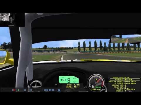 F1-Liga.cz - Nogaro - GT3 (Stream Record)