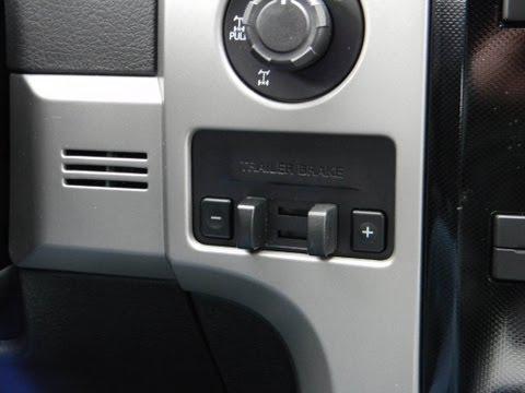 2010-14 Ford F150 Ecoboost Oem Trailer Brake Controller