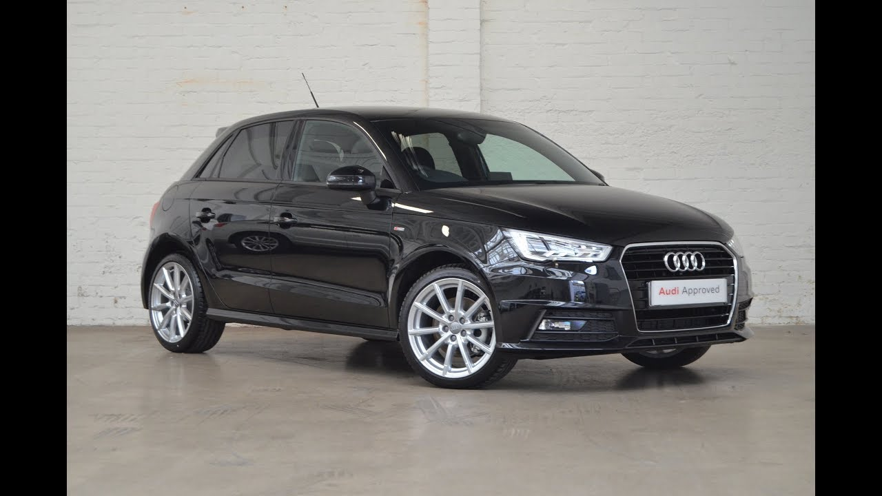 rx67zbu audi a1 sportback tdi mythos black 2017 slough audi youtube. Black Bedroom Furniture Sets. Home Design Ideas