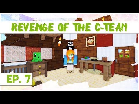 """DECORATING!"" | Revenge of the C-Team - Ep.07 | (Minecraft Mods)"