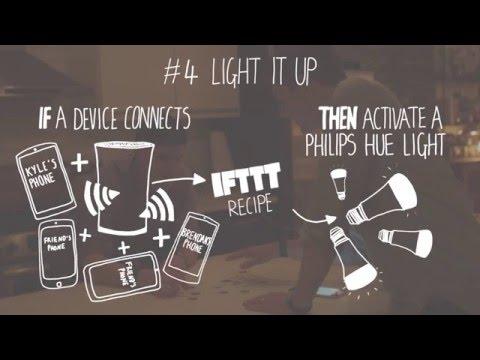 ‧ 谷歌 OnHub 路由器新技能,IFTTT 讓生活自動智能化