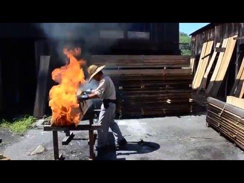 nowoczesna STODOŁA / Najstarsza metoda opalania drewna