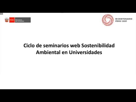 PRIMER SEMINARIO WEB: