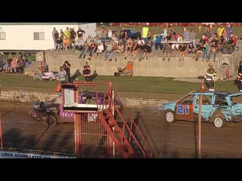 Dodge County Fair Demo Derby #5