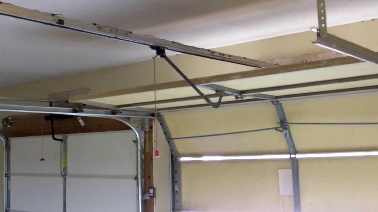 Stanley vs Overhead Garage Door - YouTube