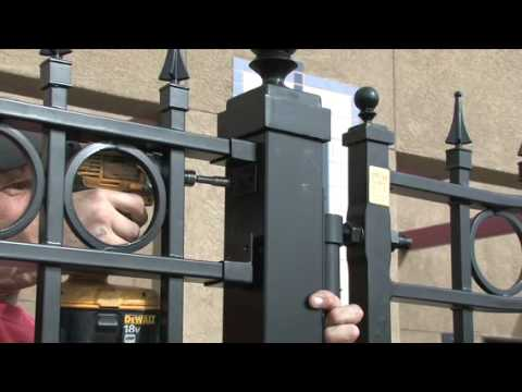 Wrought Iron Fence Installation Video