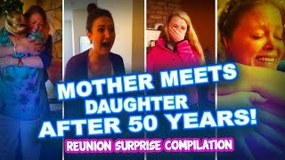 🔴 Mother Reunites with Daughter after 50 YEARS 🔴 Super Emotional Reunion Surprise Compilation!!