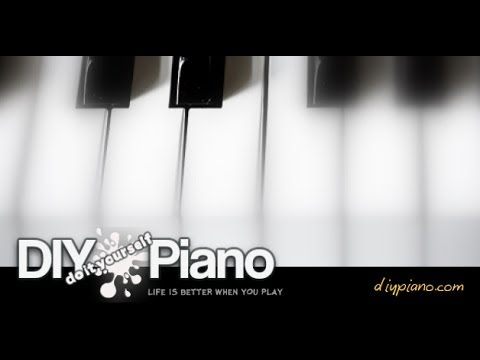 Learn piano treble clef G position notes