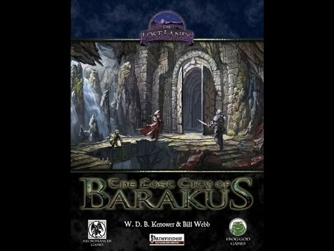 The Lost City Of Barakus RPG Review