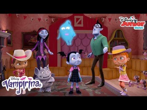 Everybody Gets Scared Music Video | Vampirina | Disney Junior