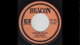 black velvet african velvet 45 psych hammond funk