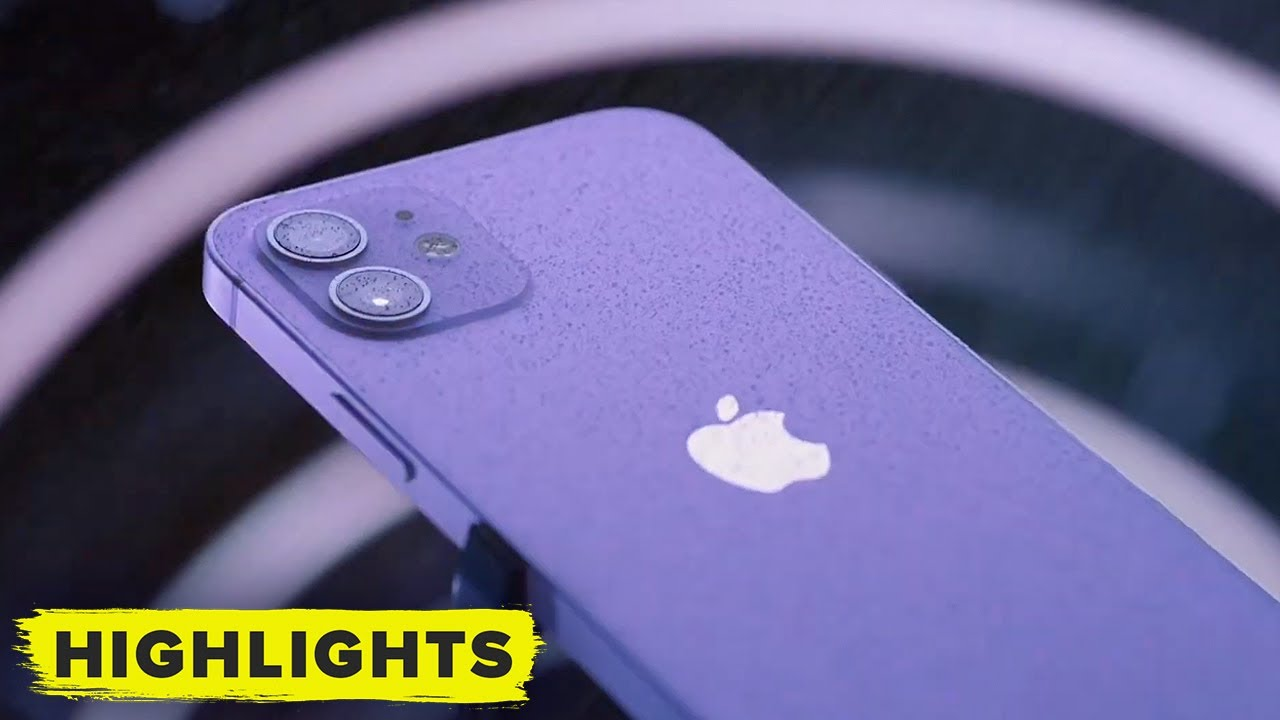 Apple just unveiled a new purple iPhone 12 that will be available for ...