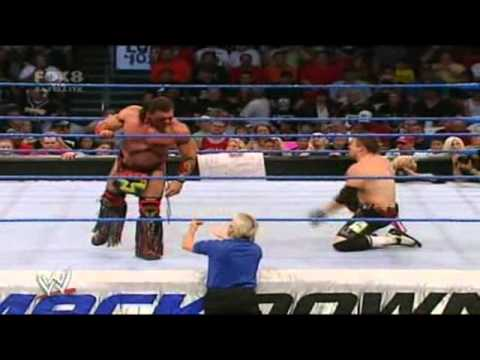 The Miz Vs. Tatanka - Rematch - WWE Smackdown 9/29/06