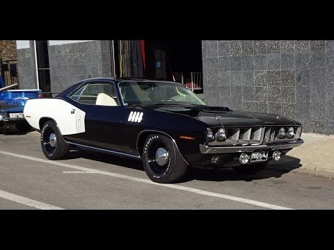 1971 Plymouth Cuda 426 Hemi Cuda Barracuda In Black Paint On My Car