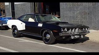 1971 Plymouth 'Cuda 426 Hemi Cuda Barracuda in Black Paint on My Car Story with Lou Costabile