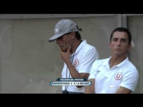 Torneo Apertura 2016: Universitario 3-0 Defensor La Bocana (fecha 3)