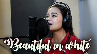 Download lagu BEAUTIFUL IN WHITE Cover by Carmela Estrella MP3