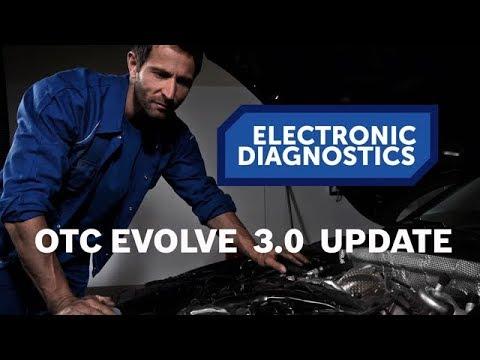 New diagnostic software for OTC Evolve – Bravo 3.0.0.13