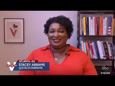 Stacey Abrams Discusses Georgia's Runoff Election and Voter Turnout | The View