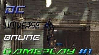 DC Universe Online Gameplay #1 German [HD] Flucht aus Brainiac