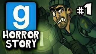 SPOOKY HOUSE Gmod Scary United Coop HORROR STORY W Nova Immortal Kevin Ep 1