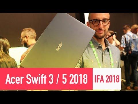 Prime impressioni nuovi Acer Swift 3/5 !?? - IFA 2018