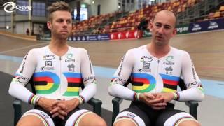 In the Starting Gate - Matt Formston & Mick Curran (NSW)